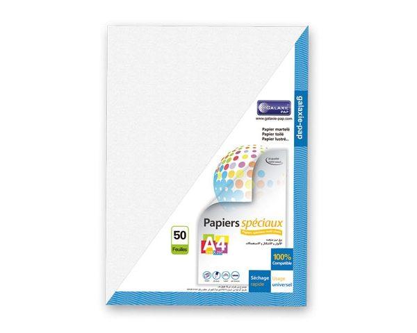 Papier brillant argent 2