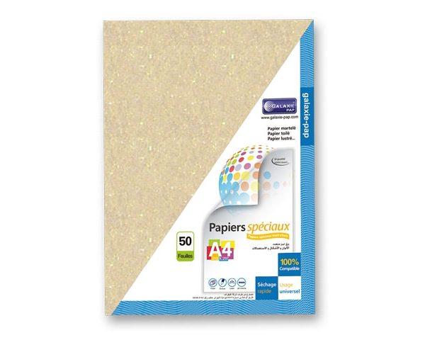 Papier brillant doré