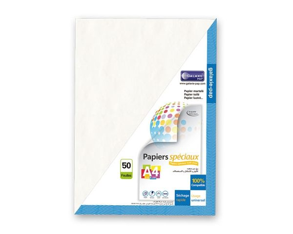 Papier toilé blanc 220g