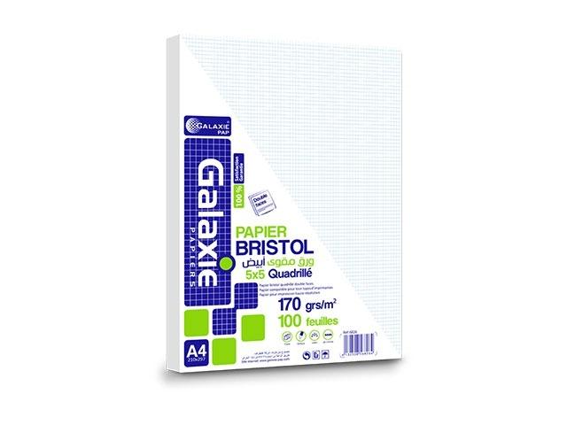 bristol blanc cadrille 170g